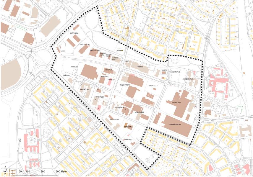 Västerbro projektområde 2019