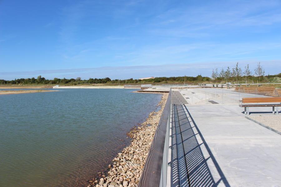 kajkant vid Råbysjön