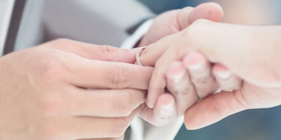 Vigsel, Giftemål, par
